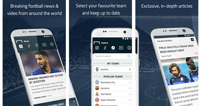 Download Goal.com App and Watch Online Free Football