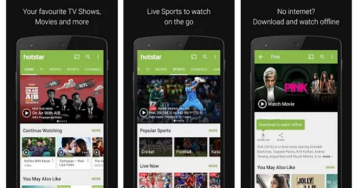 Download Hotstar App and Watch Live Football-Soccer Online