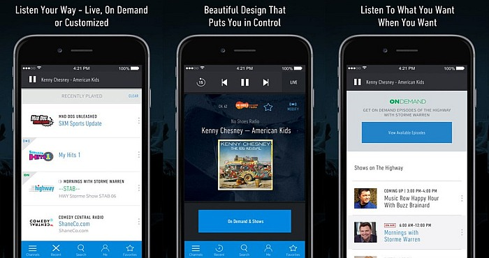 Download Sirius XM Radio App and Watch Live Football Stream