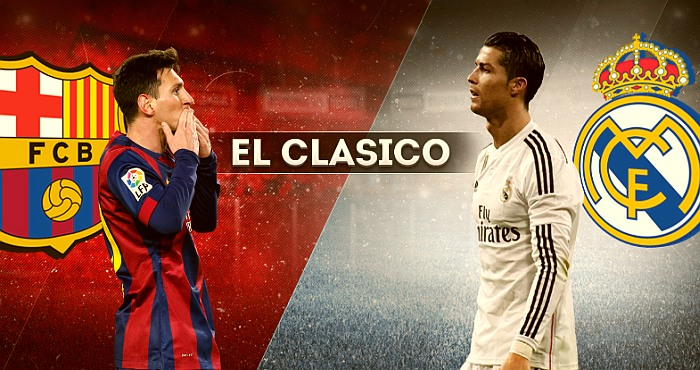 How to Watch EL CLASICO match Live Stream Real Madrid – Barcelona?