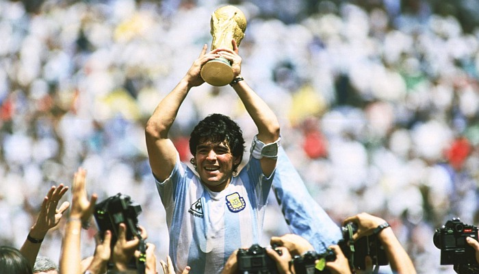 Diego Maradona the Soccer Legend that Led Argentina to Victory in the 1986 World Cup